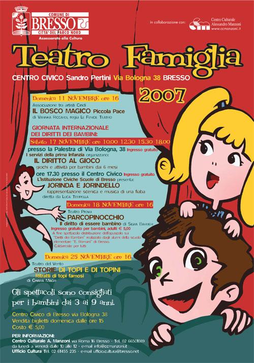 Manifesto teatro famiglia